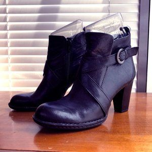 Buckle / Harness Ankle Boots